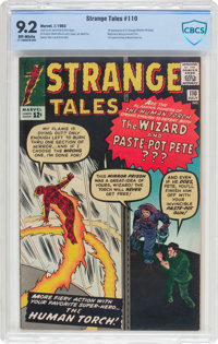 Strange Tales #110 (Marvel, 1963) CBCS NM- 9.2 Off-white pages