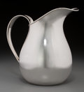 Silver Holloware, American:Pitchers, An Allan Adler Silver Pitcher, Los Angeles, California, circa1950-1960. Marks: ALLAN ADLER, STERLING. 8-1/4 incheshigh...