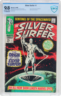 The Silver Surfer #1 (Marvel, 1968) CBCS NM/MT 9.8 Off-white to white pages