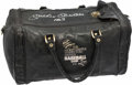 "Autographs:Others, Mickey Mantle Signed Fantasy Baseball Camp Duffle Bag - ""No. 7""Inscription. ..."