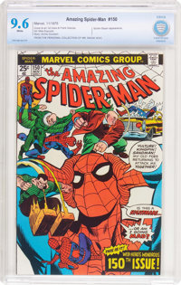 The Amazing Spider-Man #150 (Marvel, 1975) CBCS NM+ 9.6 White pages