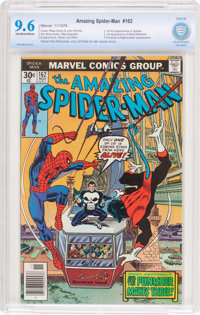 The Amazing Spider-Man #162 (Marvel, 1976) CBCS NM+ 9.6 Off-white to white pages