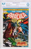 Bronze Age (1970-1979):Horror, Tomb of Dracula #10 (Marvel, 1973) CBCS VF+ 8.5 White pages....