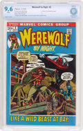 Bronze Age (1970-1979):Horror, Werewolf by Night #2 (Marvel, 1972) CBCS NM+ 9.6 White pages....
