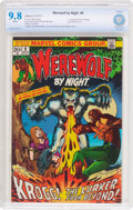 Bronze Age (1970-1979):Horror, Werewolf by Night #8 (Marvel, 1973) CBCS NM/MT 9.8 White pages....