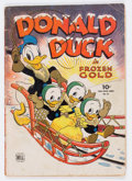 Golden Age (1938-1955):Cartoon Character, Four Color #62 Donald Duck (Dell, 1945) Condition: ApparentGD/VG....