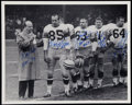 Football Collectibles:Photos, Green Bay Packers Multi-Signed Photograph....