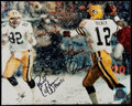 Football Collectibles:Photos, Lynn Dickey and Paul Coffman Multi-Signed Photograph....