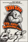 """Movie Posters:Horror, King Kong/The Most Dangerous Game Combo (Janus Films, R-1968). One Sheet (27"""" X 41""""). Horror.. ..."""