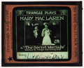 "Movie Posters:Miscellaneous, The Secret Marriage (Triangle, 1919). Glass Slide (3.25"" X 4""). Drama.. ..."