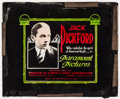 """Movie Posters:Miscellaneous, Jack Pickford (Paramount, Late 1910s). Stock Glass Slide (3.25"""" X 4""""). Miscellaneous.. ..."""