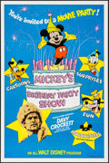 """Movie Posters:Animation, Mickey's Birthday Party Show & Other Lot (Buena Vista, 1978). One Sheets (2) (27"""" X 41""""). Animation.. ... (Total: 2 Items)"""
