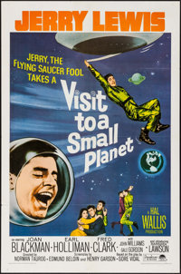 """Visit to a Small Planet & Other Lot (Paramount, R-1966). One Sheets (2) (27"""" X 41""""). Comedy. ... (Total: 2..."""