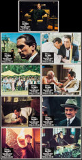 "Movie Posters:Crime, The Godfather Part II (Paramount, 1974). Lobby Card Set of 9 (11"" X14""). Crime.. ... (Total: 9 Items)"