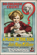 "Movie Posters:Drama, A Place in the Sun (K-E-S-E Service, 1917). One Sheet (28"" X 42"").Drama.. ..."