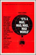 """Movie Posters:Comedy, It's a Mad, Mad, Mad, Mad World (United Artists, 1963). One Sheet(27"""" X 41"""") & Swedish Poster (16"""" X 23"""") Style B. Comedy....(Total: 2 Items)"""