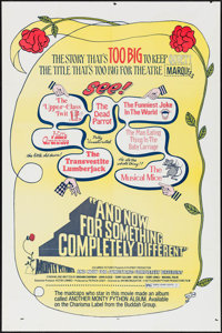 "And Now for Something Completely Different (Columbia, 1972). One Sheet (27"" X 41""). Comedy"