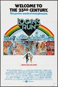 "Movie Posters:Science Fiction, Logan's Run & Other Lot (MGM, 1976). One Sheet (27"" X 41""),Pamphlet (10 Pages, 15"" X 11.75"" Folded, 15"" X 23.75"" Unfolded....(Total: 2 Items)"