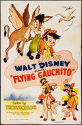 "Movie Posters:Animation, The Flying Gauchito (RKO, R-1955). One Sheet (27"" X 41"").Animation.. ..."
