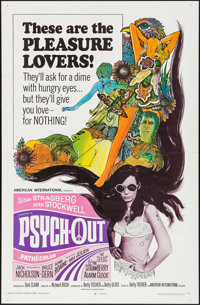 "Psych-Out (American International, 1968). One Sheet (27"" X 41""). Exploitation"
