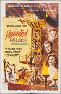"The Haunted Palace (American International, 1963). One Sheet (27"" X 41""). Horror"