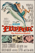 """Movie Posters:Adventure, Flipper & Other Lot (MGM, 1963). One Sheets (2) (27"""" X 41"""").Adventure.. ... (Total: 2 Items)"""