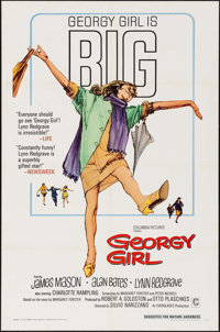 "Georgy Girl (Columbia, 1966). Folded, Very Fine-. One Sheet (27"" X 41""). Comedy"