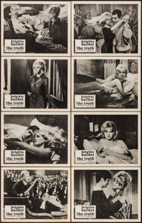 """The Truth (Kingsley International, 1960). Lobby Card Set of 8 (11"""" X 14""""). Foreign. ... (Total: 8 Items)"""