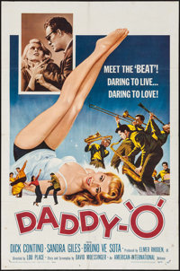 "Daddy-""O"" (American International, 1959). One Sheet (27"" X 41""). Exploitation"
