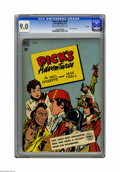 Golden Age (1938-1955):Miscellaneous, Four Color #245 Dick's Adventures -- File Copy (Dell, 1949) CGC VF/NM 9.0 Cream to off-white pages. Overstreet 2005 VF/NM 9....