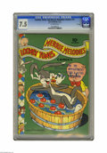 Golden Age (1938-1955):Cartoon Character, Looney Tunes and Merrie Melodies Comics #13 File Copy (Dell, 1942) CGC VF- 7.5 Off-white pages. Overstreet 2005 VF 8.0 value...