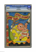Golden Age (1938-1955):Cartoon Character, Looney Tunes and Merrie Melodies Comics #27 File Copy (Dell, 1944)CGC VG 4.0 Off-white pages. Overstreet 2005 VG 4.0 value ...