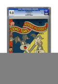 Golden Age (1938-1955):Cartoon Character, Looney Tunes and Merrie Melodies Comics #42 File Copy (Dell, 1945)CGC VF/NM 9.0 Off-white pages. Overstreet 2005 VF/NM 9.0 ...
