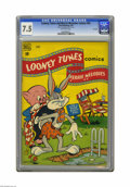 Golden Age (1938-1955):Cartoon Character, Looney Tunes and Merrie Melodies Comics #80 File Copy (Dell, 1948)CGC VF- 7.5 Off-white pages. Overstreet 2005 VF 8.0 value...
