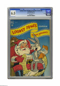 Golden Age (1938-1955):Cartoon Character, Looney Tunes and Merrie Melodies Comics #87 File Copy (Dell, 1949)CGC FN+ 6.5 Off-white to white pages. Overstreet 2005 FN ...
