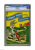 Golden Age (1938-1955):Cartoon Character, Looney Tunes and Merrie Melodies Comics #95 File Copy (Dell, 1949)CGC VF/NM 9.0 Off-white to white pages. Overstreet 2005 V...