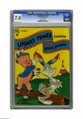 Golden Age (1938-1955):Cartoon Character, Looney Tunes and Merrie Melodies Comics #98 File Copy (Dell, 1949)CGC FN/VF 7.0 Off-white pages. Overstreet 2005 FN 6.0 val...