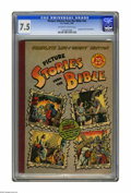 Golden Age (1938-1955):Religious, Picture Stories from the Bible Complete Life of Christ #nn (EC,1945) CGC VF- 7.5 Off-white to white pages. Giant issue cont...
