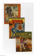 Golden Age (1938-1955):Miscellaneous, Promotional and Odd Sized Golden Age Group (Various Publishers, 1934-43). This unusual group of twelve small-sized comic and... (Total: 12 Items)