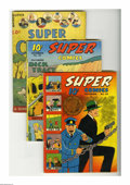 Golden Age (1938-1955):Miscellaneous, Super Comics Group (Dell, 1938-41). The first appearance of Lightning Jim is the highlight of this group, and Dick Tracy app... (Total: 6)