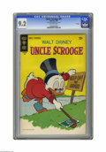 Bronze Age (1970-1979):Cartoon Character, Uncle Scrooge #87 File Copy (Gold Key, 1970) CGC NM- 9.2 Off-whitepages. Overstreet 2005 NM- 9.2 value = $60. CGC census 11...