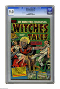 Golden Age (1938-1955):Horror, Witches Tales #11 File Copy (Harvey, 1952) CGC VF/NM 9.0 Cream tooff-white pages. This copy will make a great addition to y...