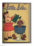 Silver Age (1956-1969):Humor, Marge's Little Lulu #133-144 Bound Volume (Dell, 1959-60). These are Western Publishing file copies that have been trimmed a...