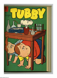 Marge's Tubby #5-16 Bound Volume (Dell, 1953-56). These are Western Publishing file copies that have been trimmed and bo...