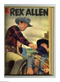 Golden Age (1938-1955):Western, Rex Allen Comics #14-25 Bound Volume (Dell, 1954-57). These areWestern Publishing file copies that have been trimmed and bo...