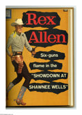 Silver Age (1956-1969):Western, Rex Allen Comics #26-31 Bound Volume (Dell, 1957-59). These areWestern Publishing file copies that have been trimmed and bo...