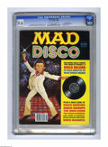 Magazines:Mad, Mad Disco nn Gaines File pedigree (EC, 1980) CGC NM+ 9.6 Off-whiteto white pages. Includes Mad Disco record. Jack Rickard c...