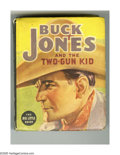Platinum Age (1897-1937):Miscellaneous, Big Little Book #1404 Buck Jones and the Two-Gun Kid (Whitman, 1937) Condition: VF. About the time this Big Little Book was ...