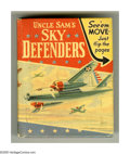 Golden Age (1938-1955):War, Big Little Book #1461 Uncle Sam's Sky Defenders (Whitman, 1941)Condition: VF+. Created specially for the Big Little Book fo...