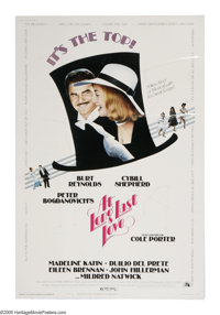"""At Long Last Love (20th Century Fox, 1975). Poster (40"""" X 60""""). Peter Bogdanovich's homage to the musicals of..."""